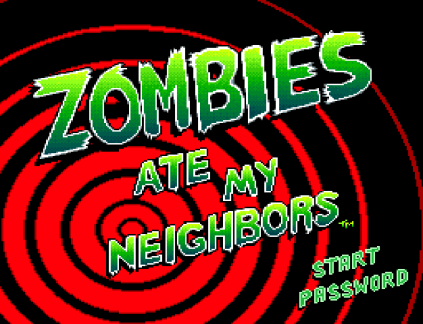 Zombies Ate My Neighbors SNES 01