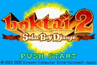 Boktai 2 - Solar Boy Django GBA 001
