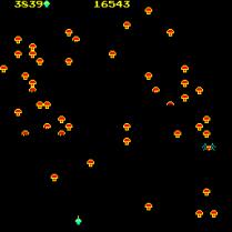 Centipede Arcade 16