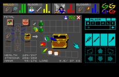 Chaos Strikes Back Atari ST 32