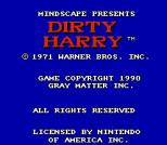 Dirty Harry NES 02