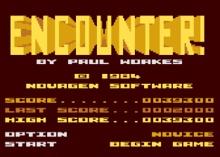 Encounter Atari 800 01