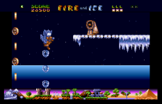 Fire and Ice Atari ST 32