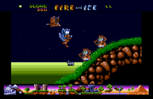 Fire and Ice Atari ST 34