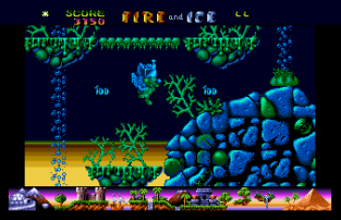 Fire and Ice Atari ST 45