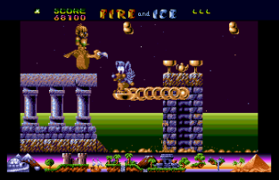 Fire and Ice Atari ST 67