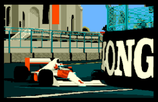 Formula One Grand Prix Atari ST 01