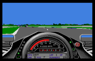 Formula One Grand Prix Atari ST 20