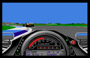 Formula One Grand Prix Atari ST 23