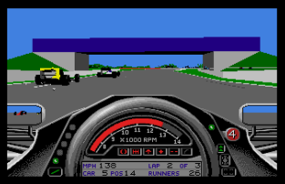 Formula One Grand Prix Atari ST 31