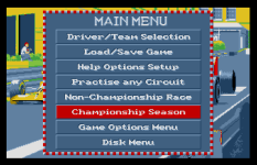 Formula One Grand Prix Atari ST 32
