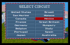 Formula One Grand Prix Atari ST 33