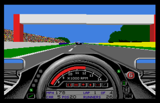 Formula One Grand Prix Atari ST 53