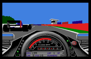 Formula One Grand Prix Atari ST 56