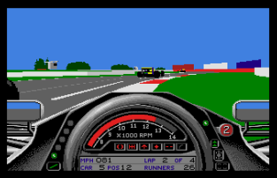 Formula One Grand Prix Atari ST 64