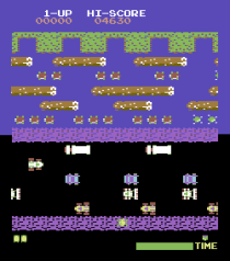 Frogger Arcade C64 01