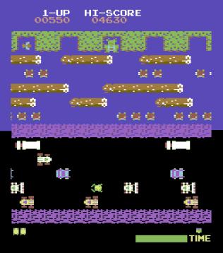 Frogger Arcade C64 04
