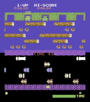 Frogger Arcade C64 06