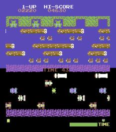 Frogger Arcade C64 07