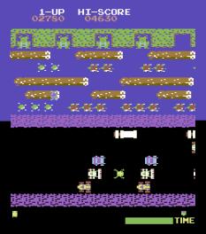 Frogger Arcade C64 08
