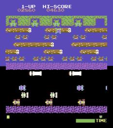 Frogger Arcade C64 09