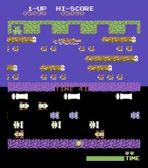 Frogger Arcade C64 12