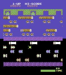 Frogger Arcade C64 14