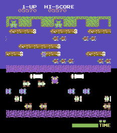 Frogger Arcade C64 15