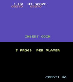 Frogger Arcade C64 16