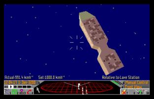 Frontier - Elite 2 Atari ST 12
