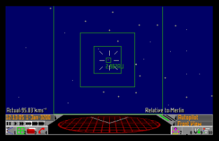 Frontier - Elite 2 Atari ST 34