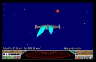 Frontier - Elite 2 Atari ST 45