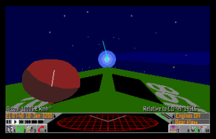 Frontier - Elite 2 Atari ST 53