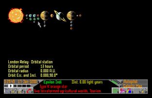 Frontier - Elite 2 Atari ST 64