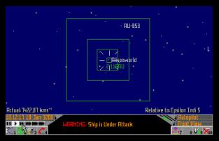 Frontier - Elite 2 Atari ST 67