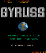 Gyruss Arcade 01