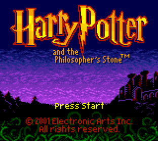 Harry Potter and the Philosopher's Stone GBC 001