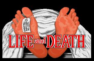 Life and Death Atari ST 01