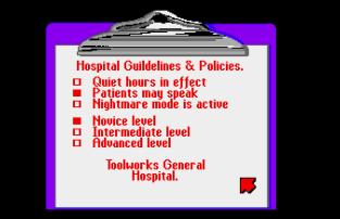 Life and Death Atari ST 09