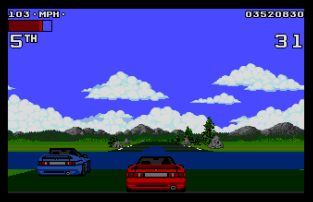 Lotus Turbo Challenge 2 Atari ST 12