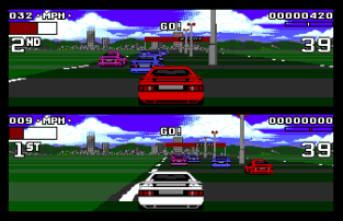 Lotus Turbo Challenge 2 Atari ST 45