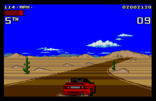 Lotus Turbo Challenge 2 Atari ST 53