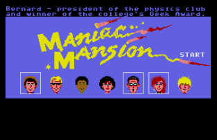 Maniac Mansion Atari ST 01