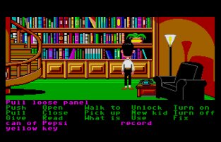 Maniac Mansion Atari ST 45