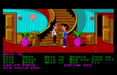 Maniac Mansion Atari ST 54
