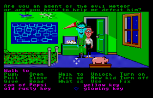 Maniac Mansion Atari ST 78