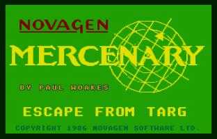 Mercenary Atari ST 01