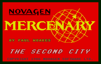 Mercenary - The Second City Atari ST 01