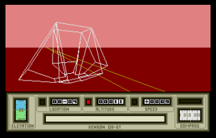 Mercenary - The Second City Atari ST 10