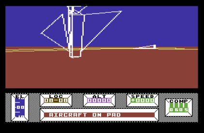 Mercenary - The Second City C64 01